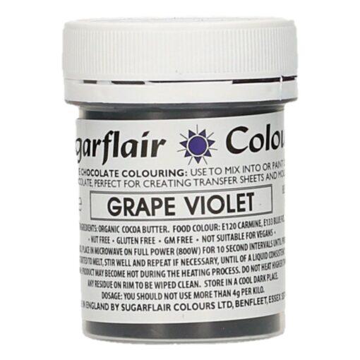 Colorant Ciocolata – GRAPE VIOLET / VIOLET – Sugarflair