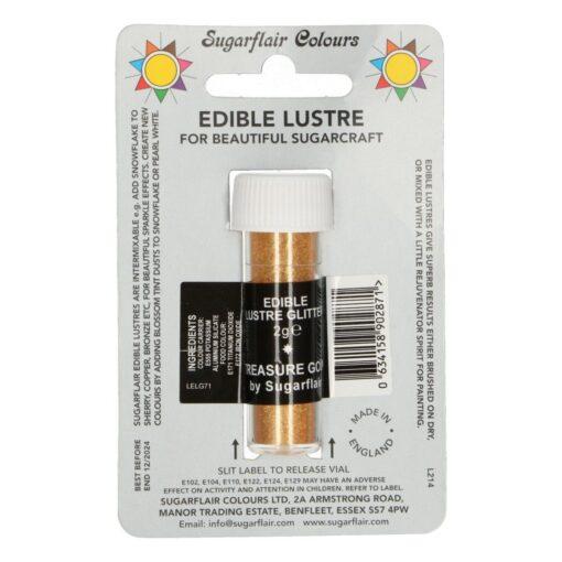 Colorant Pudra Comestibila – TREASURE GOLD – Sugarflair
