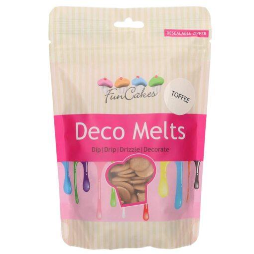 Ciocolata Glazuri,(Deco Melts),Caramel,250G–FunCakes
