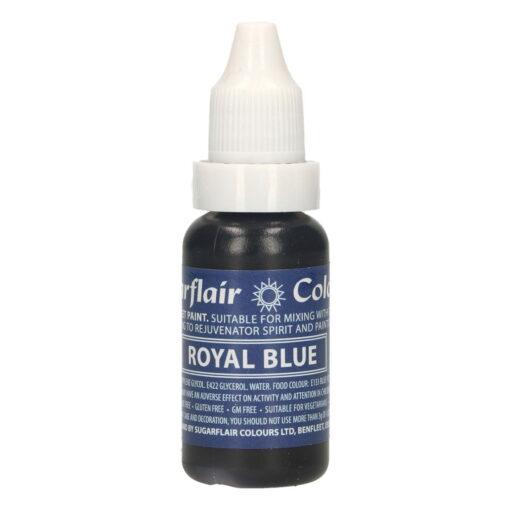 Colorant Alimentar Lichid - ROYAL BLUE / ALBASTRU REGAL - 14 ml. - Sugarflair