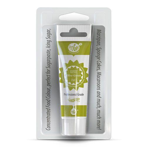 Colorant Alimentar Concentrat OLIVE GREEN / Verde Măsliniu – ProGel