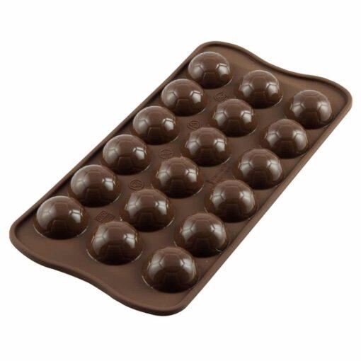 Forma de Silicon pentru Ciocolata - Minge de Fotbal - Silikomart