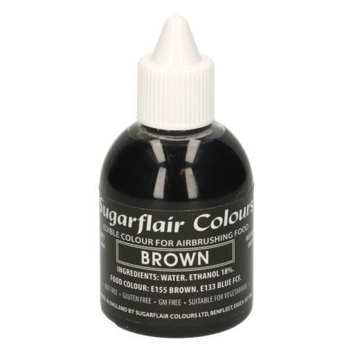 Colorant Aerograf – BROWN / MARO – Sugarflair