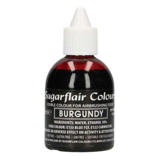 Colorant Aerograf – BURGUNDY / Visiniu – Sugarflair