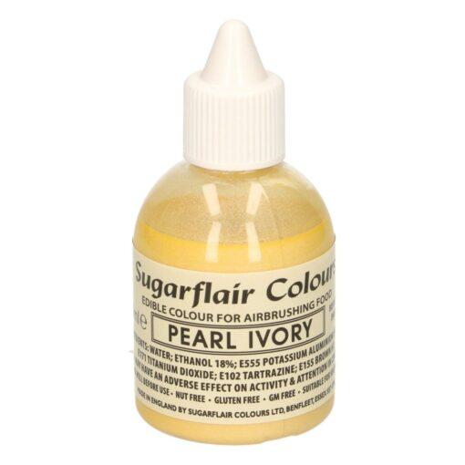 Colorant Aerograf – PEARL IVORY / IVORIU PERLAT – Sugarflair