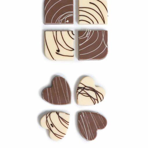 Forma Policarbonat pentru Ciocolata -Inimi - Decora