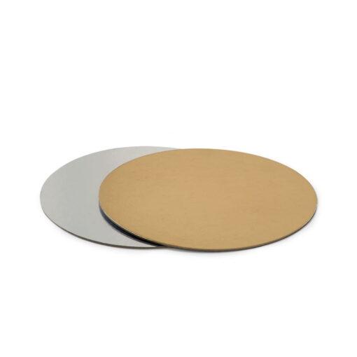Discuri Tort , 30 CM , - Auriu/Argintiu - Decora