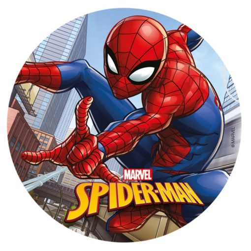 Vafă comestibilă Spiderman - 20CM-Dekora