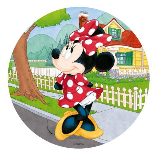 Vafă comestibilă Minnie Mouse - 20CM-Dekora