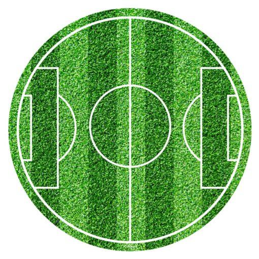 Imagine comestibilă - Teren de fotbal - 200x3x200 mm, Dekora