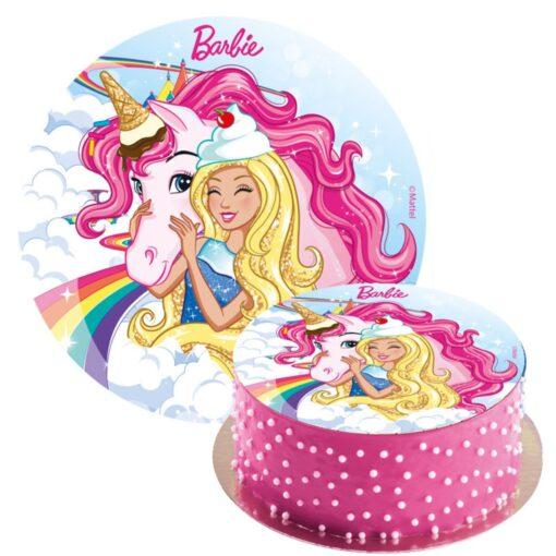 Vafă comestibilă Barbie-20CM-Dekora