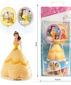 Kit Figurina Tort - Princesa Bella - DeKora