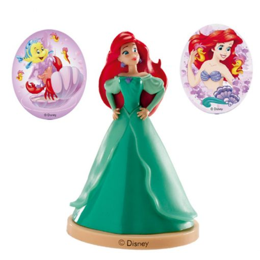 Kit Figurina Tort - Princesa Ariel - DeKora