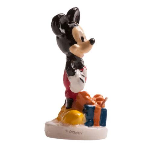 Lumânare pentru zi de naștere Mickey Mouse 3D, 8CM-Dekora