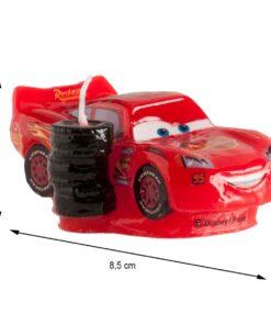Lumânare pentru zi de naștere - Cars 3D - 8 CM - Dekora