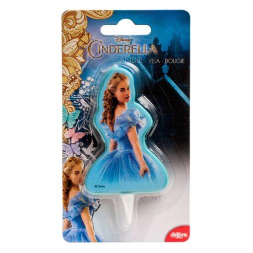 Lumânare pentru zi de naștere - Princesă Disney 2D - 8 CM - Dekora