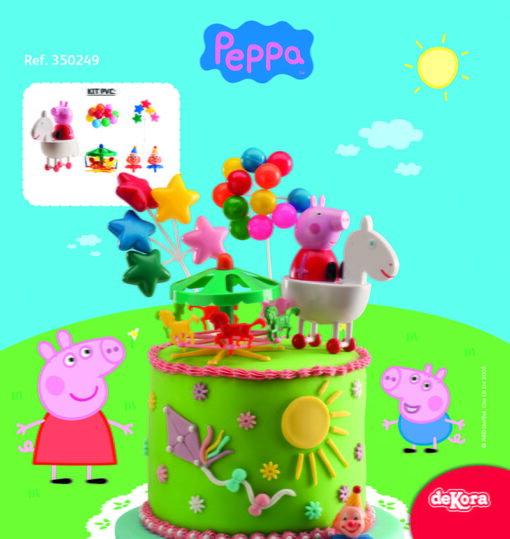 Set Figurina necomestibilă – Peppa Pig – Dekora