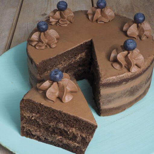 Mix pentru blaturi-checuri de ciocolata - FunCakes