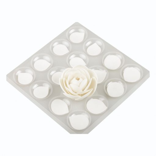 Set de 4 planse pentru uscat florile din zahar - Decora