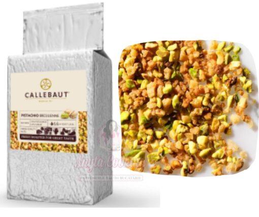 Fistic crocant granulat si caramelizat - 1 kg - Callebaut