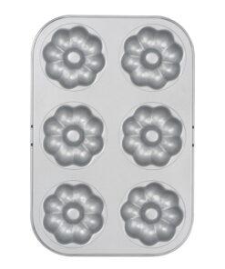 Tavă de copt gogoși - Flori - 7.5cm - Decora