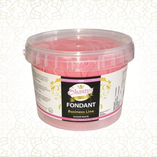 Pastă de zahăr-Business Line-Pink-1kg-Shantys