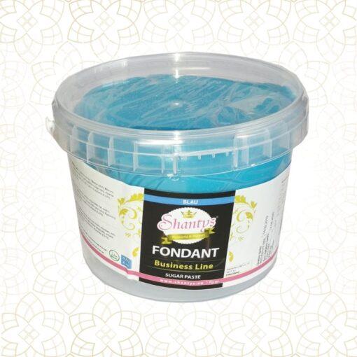 Pastă de zahăr-Business Line-Albastru-1kg-Shantys
