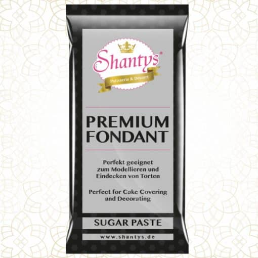 Pastă de zahăr-Negru-1 kg-Shantys
