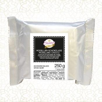Ciocolată modelatoare-Negru-250g-Shantys