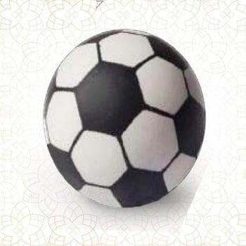 Set 40-Ciocolată decor- Minge de fotbal-27x27mm-Shantys