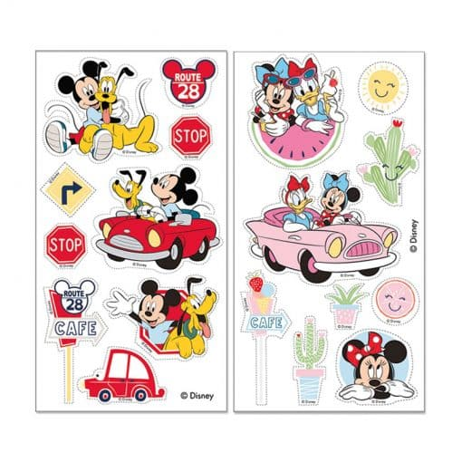Sticker comestibil tort-Mickey și Minnie-1x192x110 mm-Dekora