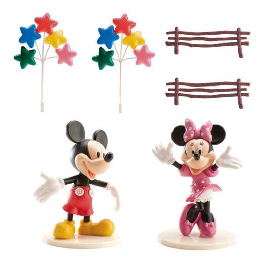 Figurină tort - Mickey&Minnie- 40x240x170 mm-Dekora