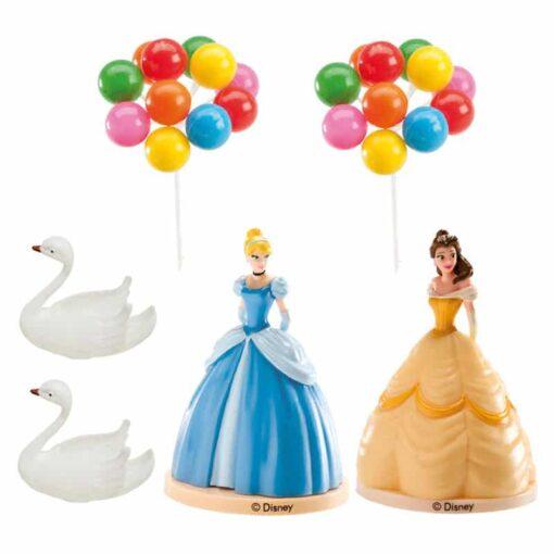 Set figurină tort - Prințesă Disney- 40x240x170 mm- Dekora