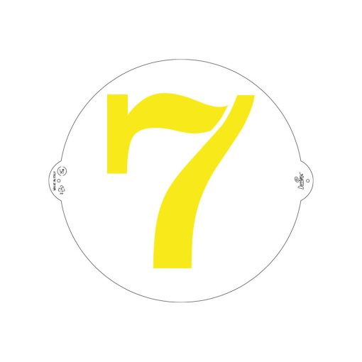 Șablon tort Cifra 7- 25 cm- Decora