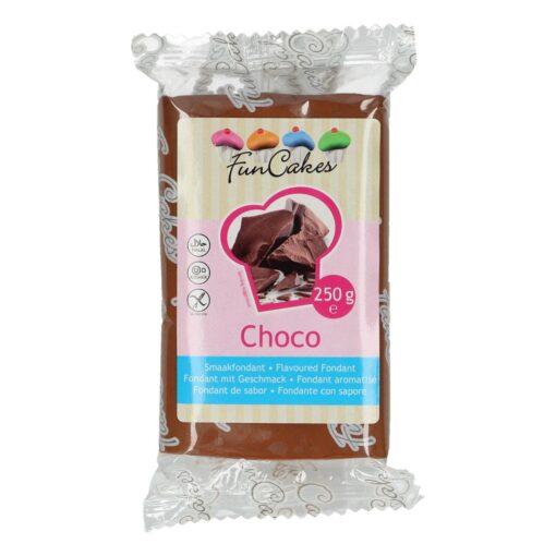 Fondant cu gust de Ciocolată- 250g- FunCakes