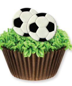 Figurină tort comestibil - Minge de fotbal -PME