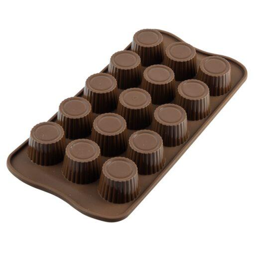 Formă de silicon pentru ciocolată -Silikomart - Praline