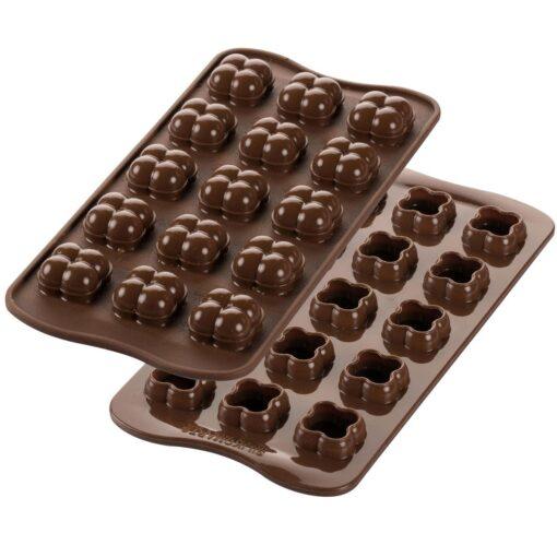 Formă silicon ciocolată- Choco Game -Silikomart