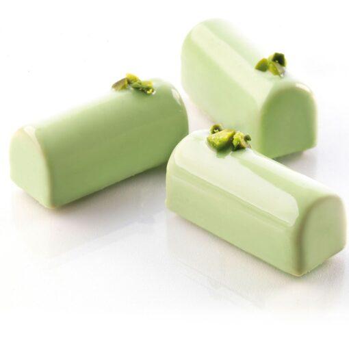 Formă silicon ciocolată-Mini Buche-S ilikomart