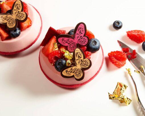 Set 196 Fluturi din Ciocolata Fina - Barry Callebaut