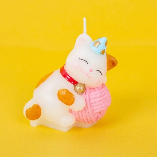 Lumaare tort pisica 3D