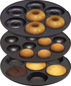 Aparat electric 3 in 1 pentru facut briose, cake pops si gogosi-Breston