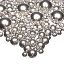 Silver Choco Explosion - 80 g- Happy Sprinkles