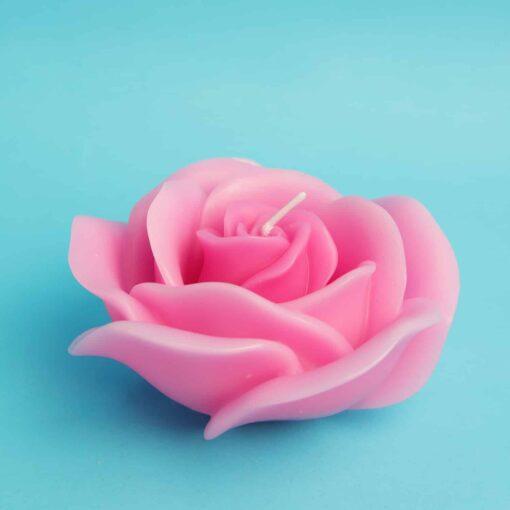 Lumanare tort trandafir 3d