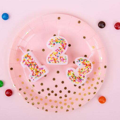 Lumanarea 3D - cu Perlute decorative - Anyta Cooking