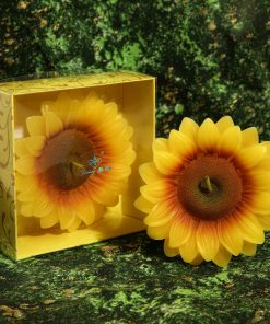 Lumaare tort floarea soarelui 3D