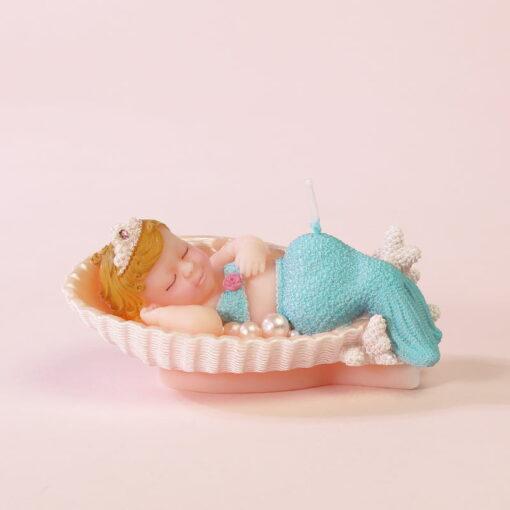 Lumânare Tort 3D - Sirena Adormita - Anyta Cooking