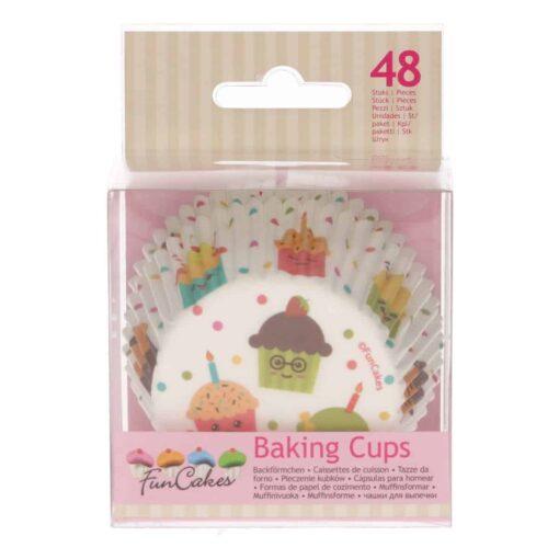 Set 48 buc Forme de copt briose -Cupcake Party-Funcakes