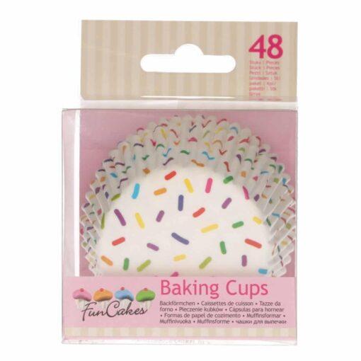 Set 48 buc Forme de copt briose -Sprinkles-Funcakes