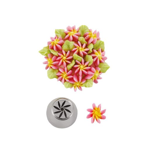Dui cu vârf în formă de floare 3D-Decora